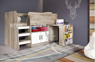 Легло със скрин и бюро СИТИ 5023